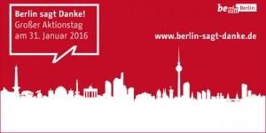 Aktionstag: Berlin sagt Danke!