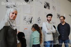 Ein Zuhause ohne Wände: Ausstellung: Kinder zeichnen Krieg und Not – Berliner Woche
