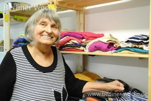 Viel Humor und ein großes Herz: Renate Steffe hat die Kleiderkammer ins … – Berliner Woche