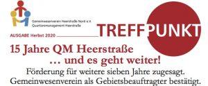 Weiter geht es mit QM in Heerstraße