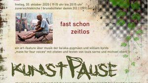KunstPause + Saitenklänge in Staaken